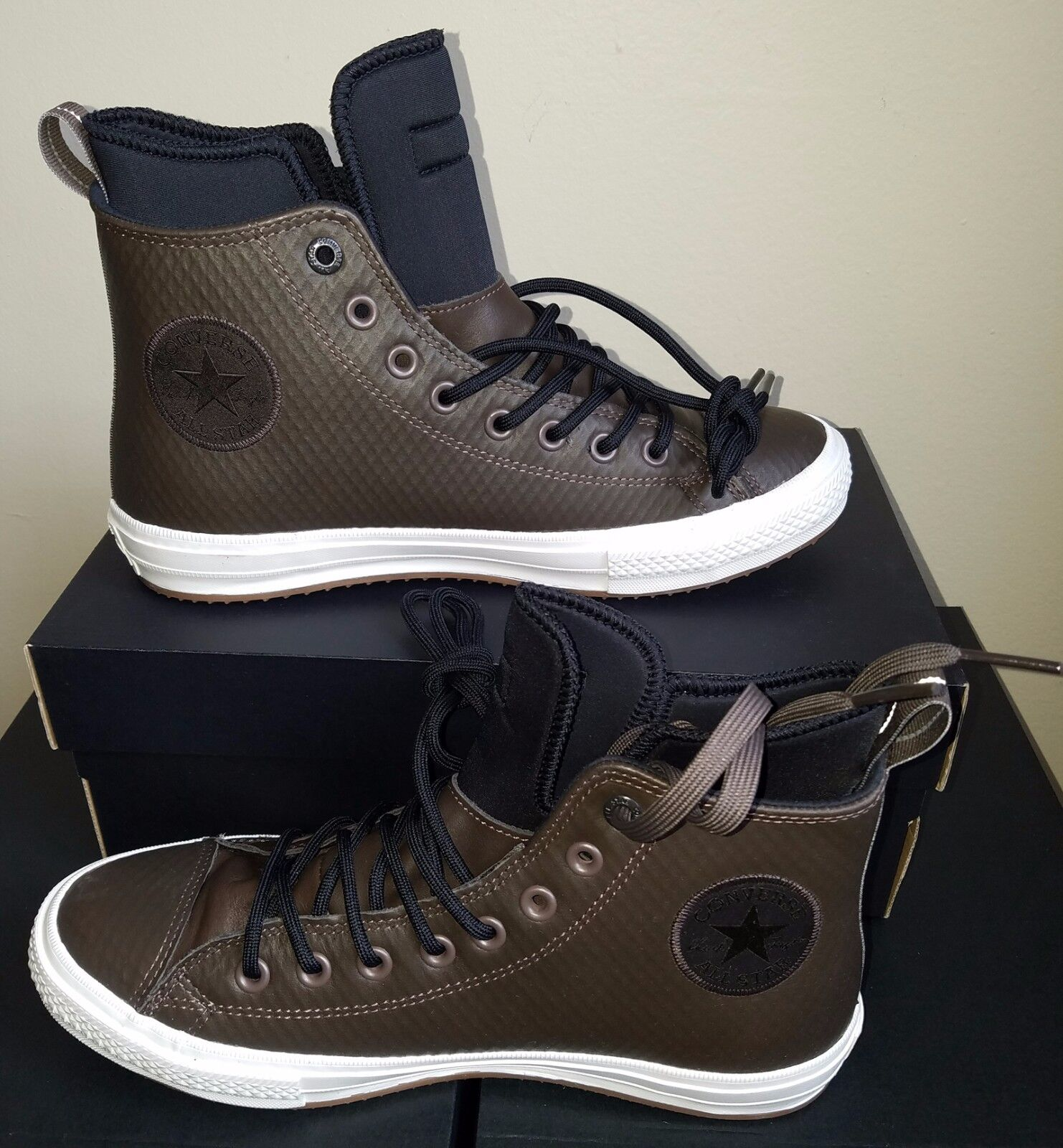 NEW CONVERSE CHUCK TAYLOR ALL STAR II WATERPROOF MESH BACKED LEATHER US 6.5