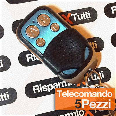 Serio 5 Telecomandi Per Cancello Automatico Universale 433,92 Mhz Faac Came Nice Altri Negozio Online