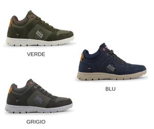 CARRERA-JEANS-Scarpe-da-ginnastica-uomo-BOXER-sneakers-in-tessuto-scarponcini-DD