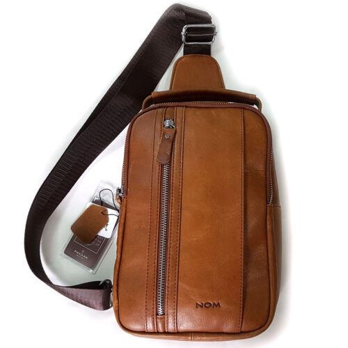 NEW Brown Sling bag Cross Body Bag Messenger Shoulder Bag Passport Bag