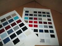1992 Ford Car And Truck Fleet Color Paint Chip Charts