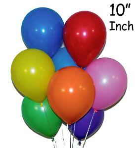 100-Latex-Plaine-Ballon-Ballons-Helium-Ballons-De-Qualite-Fete-anniversaire-amp-mariage