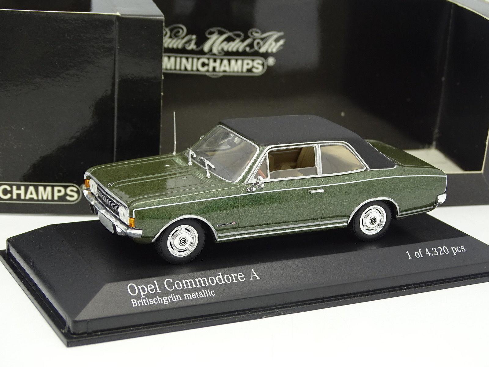 Minichamps 1 43 - OPEL Commodore hat 1966 grün