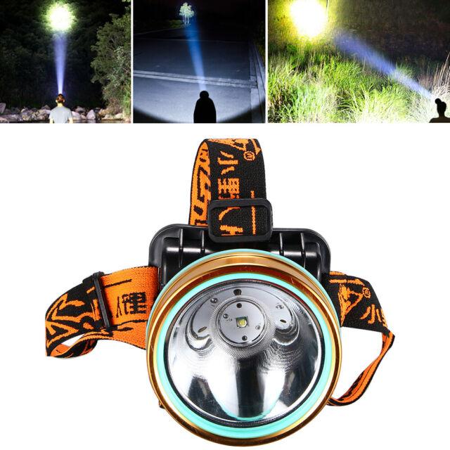 6000 Lumen LED Head Torch Motion Sensor Headlight Rechargeable Bright LED