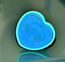 Sailor Mercury stamp Sailor Moon vintage Japanese Bandai Japan heart shaped