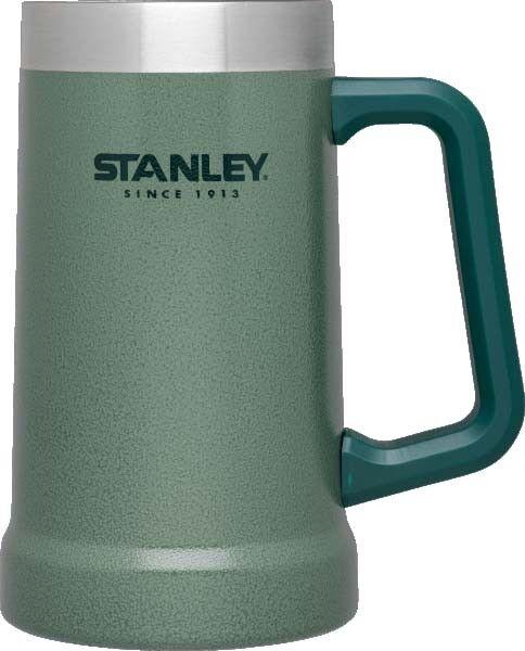 Stanley Adventure Vacuum Stein Mug Hammertone Green - Cold Beer or Hot Coffee