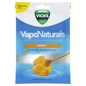 Vicks VapoNaturals Honey Throat Drops 20pk