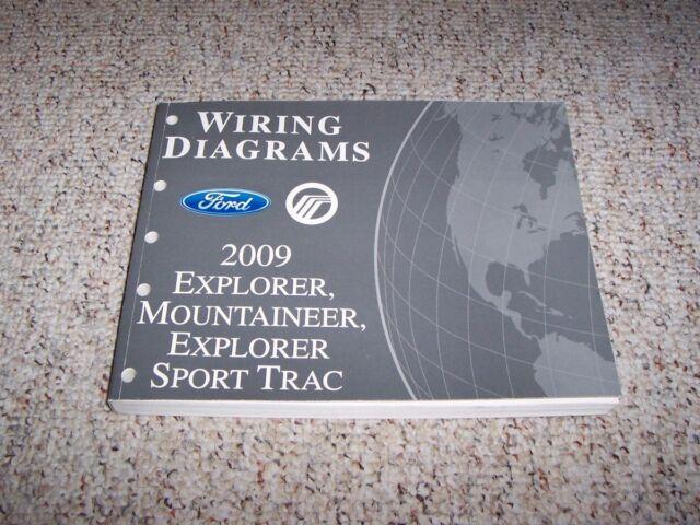 2009 Mercury Mountaineer Electrical Wiring Diagram Manual