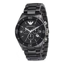 Emporio armani original exclusive AR1421 chronograph mens ceramic watch