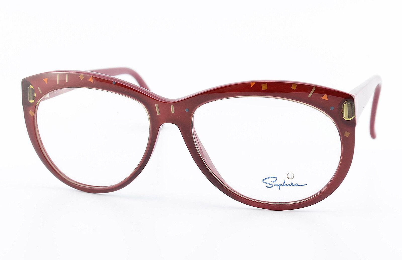SAPHIRA Brille Mod. 4152 30 5415 130 Optyl Eyeglasses Frame 80s NOS Woman | Elegante Und Stabile Verpackung  | Louis, ausführlich  | Erlesene Materialien  | Deutschland München