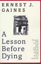 A Lesson Before Dying (Oprah's Book Club), Ernest J. Gaines, Very Good Book