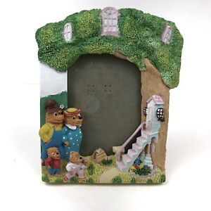 The-Berenstain-Bears-Child-039-s-3D-Photo-Picture-Frame-Family-Tree-House-3-5-034-x-5-034