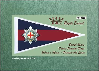 THE COLDSTREAM GUARDS Royale Military Pennant Flag FP1.1325