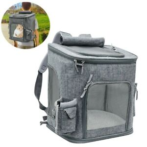 d6d0df4df2 Cat Carrying Extra Large Capacity Pet Backpack Dog Breathable Pet ...