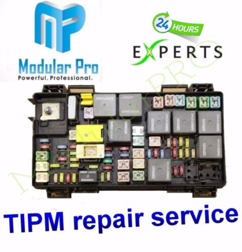 TIPM Fuel Pump Relay Repair//Replacement Service  2008-2012 Jeep Liberty