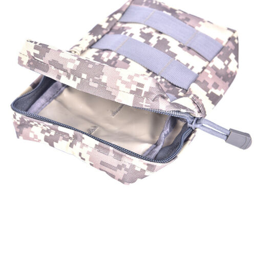 Military 600D Pouch Bag Tactical Utility Bags Vest Gadget Hunting Waist PacYN