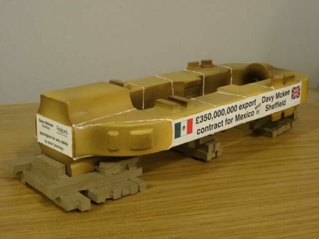 Heavy Haulage Corgi Modern Truck Resin Casting Load - - 1:50th. DAVY McKEE