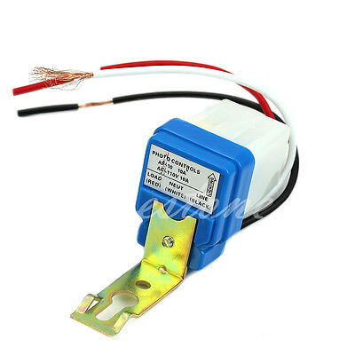 Auto On Off Photo Control Sensor For AC110V Light Switch