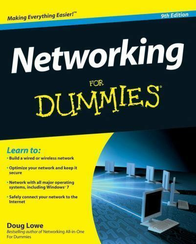 Networking For Dummies (For Dummies (Computer/Tech))-ExLibrary