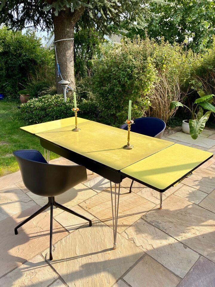 Spisebord, Formica / træ / laminat, b: 80 l: 119