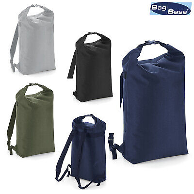 excellent quality buy sale buy online BagBase Icon Roll-Top Backpack BG115 -Lightweight Waterproof ...