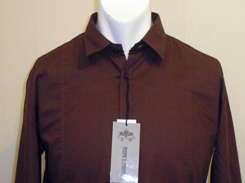 L /& XL-NUOVA CON ETICHETTA!! M Speranza /& Onore Camicia a maniche lunghe in nero o marrone-taglie S