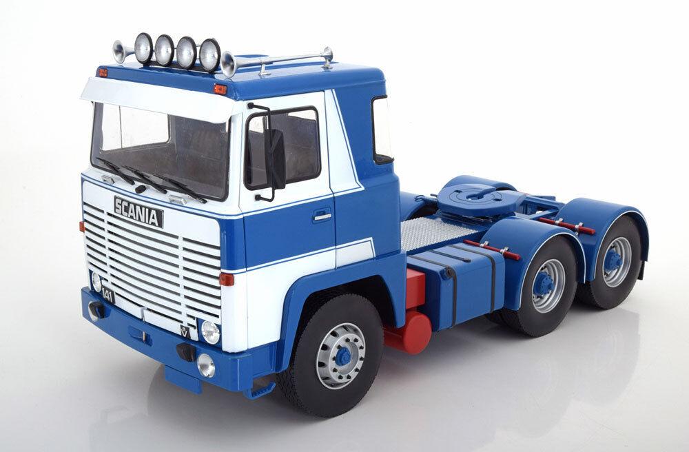 Carretera Reyes 1976 Scania Lbt 141 Asg Camión blu biancao en 1