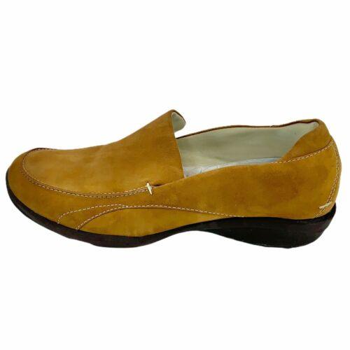 Liz Sport Womens Remix Tan Leather Slip On Shoes C
