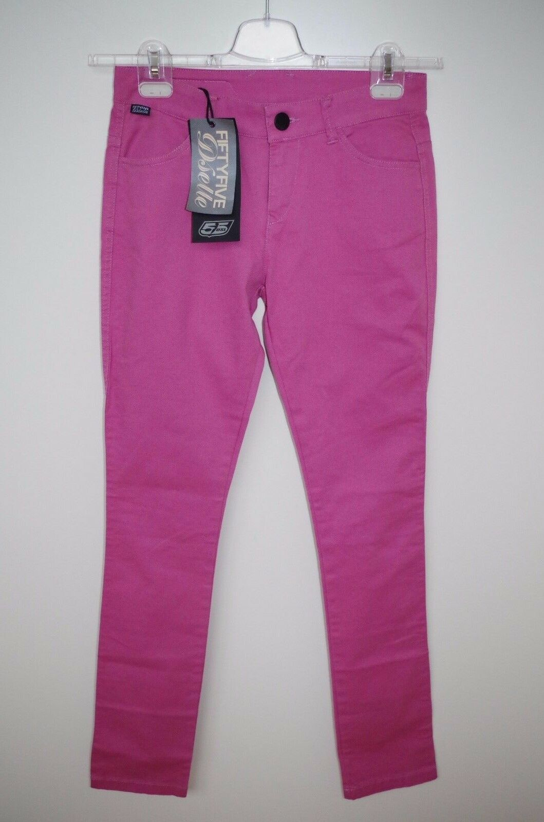 55 DIESEL sz W28 WOMENS STRETCH DENIM JEANS SLIM SKINNY LOW WAIST PINK PURPLE