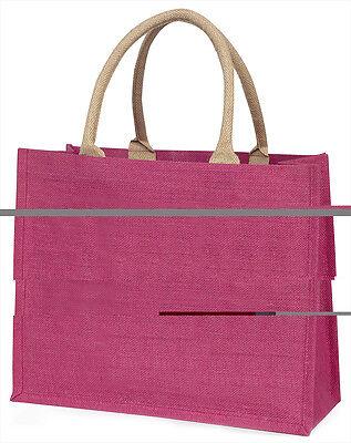 siamesische Katze 'Unconditional Love' große rosa Einkaufstasche WEIHNACHTEN PR,