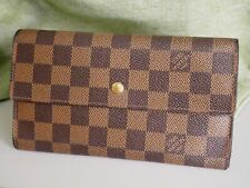 Louis Vuitton Wallet Accessory Porutofoiyu International Long Damier N61217