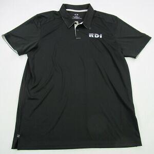 Oakley-Mens-Polo-Shirt-Black-Short-Sleeve-XL-Performance-Soft-Golf-Casual-RDI