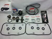 Acura Honda V6 Genuine Timing Belt Water Pump & Gasket Kit 8