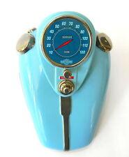 Harley Davidson Gas Tank Cookie Jar W Lid 1992  Blue Never Used