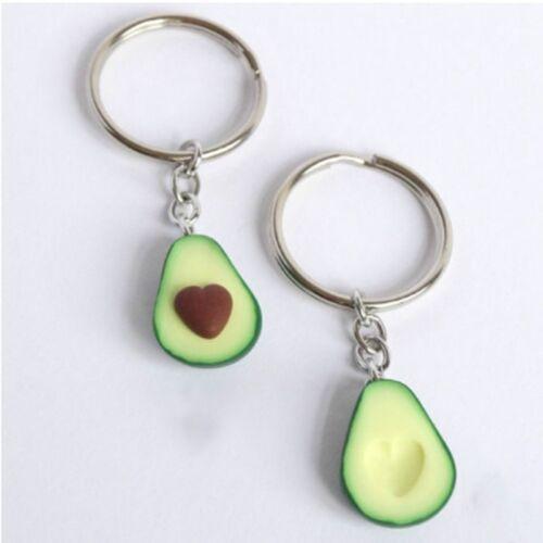 Avocado Keyrings BFF Keychain Food Jewellery Best Friend Keychains