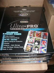 ULTRA-PRO-SEALED-9-POCKET-PAGE-BOX-OF-100-X-2-RETAIL-90