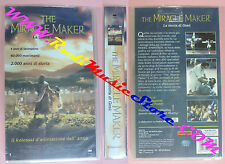 VHS film THE MIRACLE MAKER La storia di gesu' SIGILLATA 1999 CVC (F145) no dvd