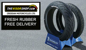 new michelin pilot road 4 190 55 zr17 75w rear sport touring motorcycle tyre ebay. Black Bedroom Furniture Sets. Home Design Ideas