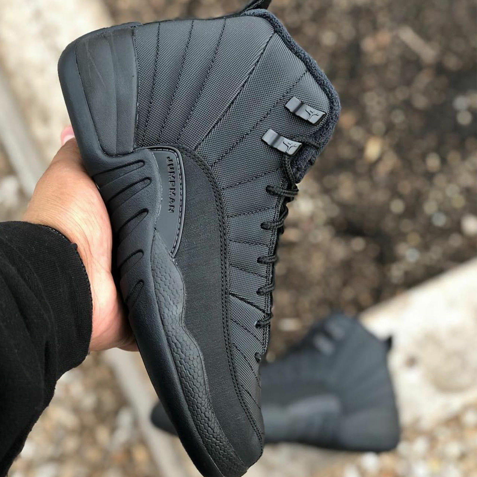 Nike Air Jordan 12 Retro WNTR Winterized XII Black Men   Women GS Kids Pick 1