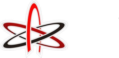 Stickers Atom of Athiesm Symbol Decals