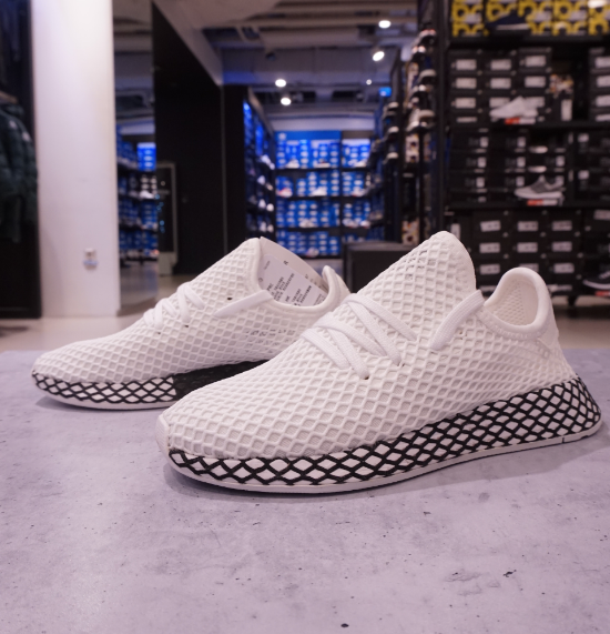 Adidas Originals Deerupt Runner schuhe B41767 Größe 4-13 Weiß