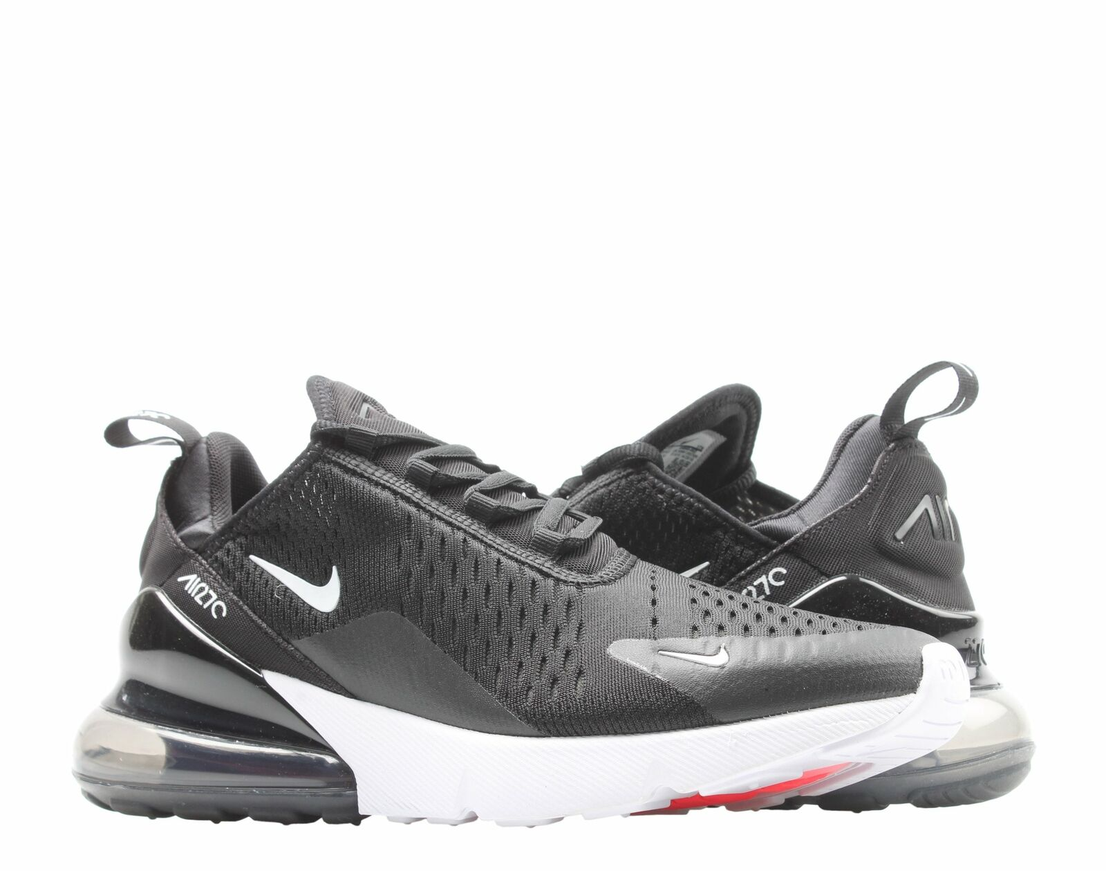 uk availability b8e4b 47927 Nike Air Max 270 Mens Ah8050-002 Black White Anthracite Running Shoes Size  12