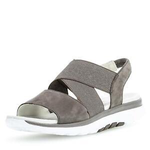 Gabor-Comfort-Damen-Sandale-Sandalette-Schlupfschuhe-Sommerschuhe-Leder-Schuhe