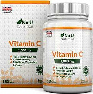 Vitamin-C-1000-mg-vitamine-C-Cure-de-6-Mois-180-comprimes-Complements-alim
