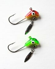 20 NEW Horsehead Road Runner Jigs w/ Spinner Blade Flasher 1/4 oz Fishing Hooks
