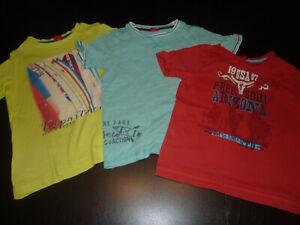 Angemessen 3 T-shirts Für Jungs Der Marke S`oliver In Gr. 116/122 Von Der Konsumierenden öFfentlichkeit Hoch Gelobt Und GeschäTzt Zu Werden