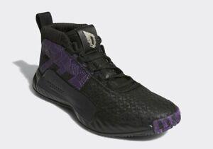 Adidas Dame 5 shoes - Black Panther