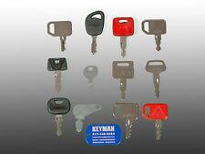 John Deere Tractor & Heavy Equipment Key Set-12 Keys- Most Complete JD Set