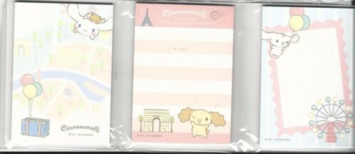 Sanrio Cinnamoroll Notes In Folder Six Designs