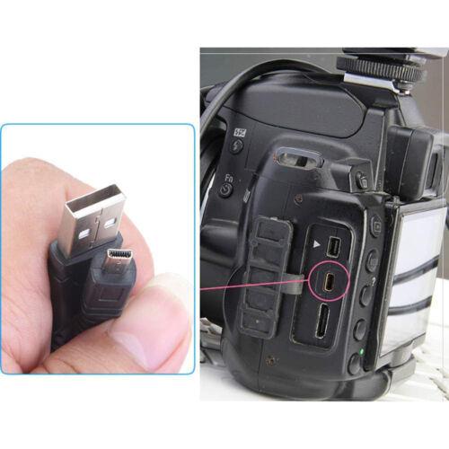 3.3ft USB Cable De Sincronización De Datos Para Cámara Fujifilm Finepix S8400 S8400W S4850 S4830